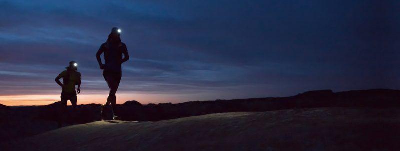 Linternas Frontales de trail running Petzl
