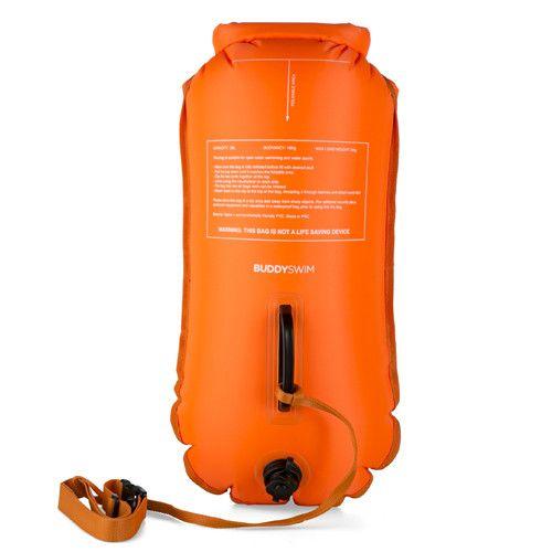 Boya Drybag BuddySwim 28lt caution naranja