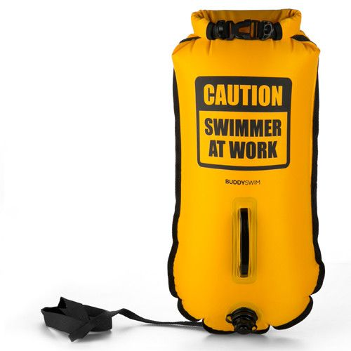 Boya Drybag BuddySwim 28lt caution yellow