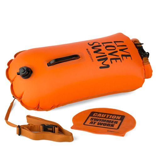 Boya Drybag BuddySwim 28lt love oranje (2)
