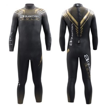 Traje Neopreno Aquaman Cell Gold