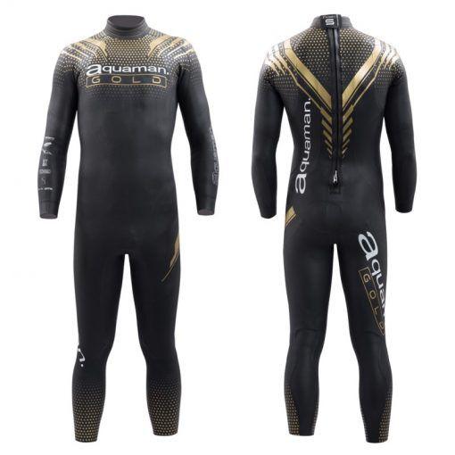 Traje Neopreno Aquaman Cell Gold