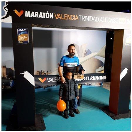 EDP Maratón de Valencia Trinidad Alfonso 2018 #cdtrailrunnerstore