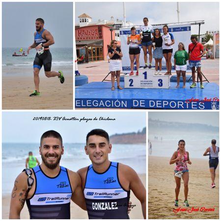XIV Acuatlón Playas de Chiclana #cdtrailrunnerstore